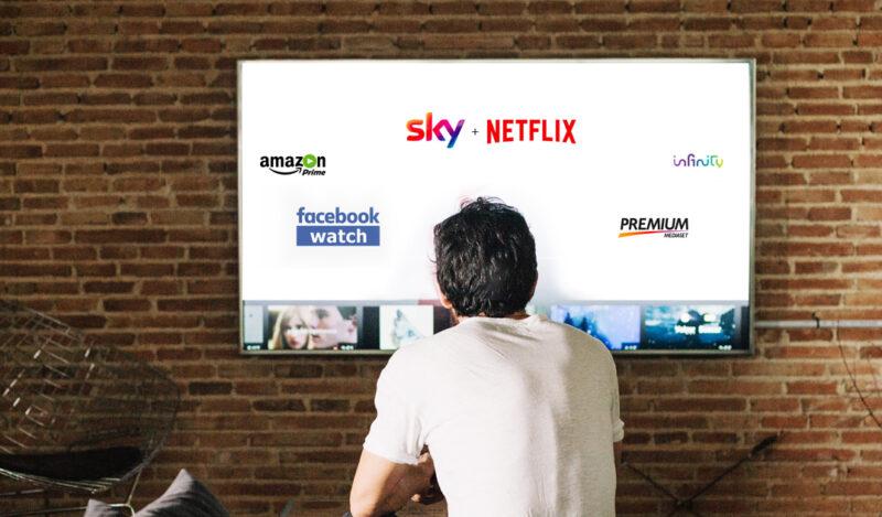L'accordo tra Sky e Netflix, come si comporterà il re dei Social?